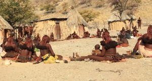 The Himba. Black Africa is here, and marketing hasn't arrived yet